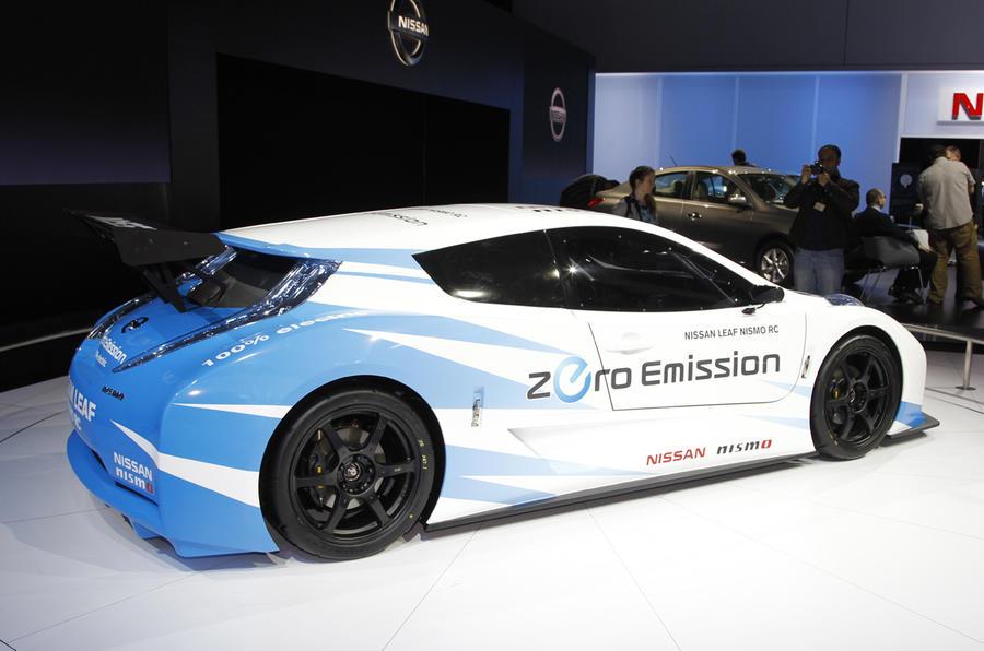 New York motor show: Nissan Leaf Nismo