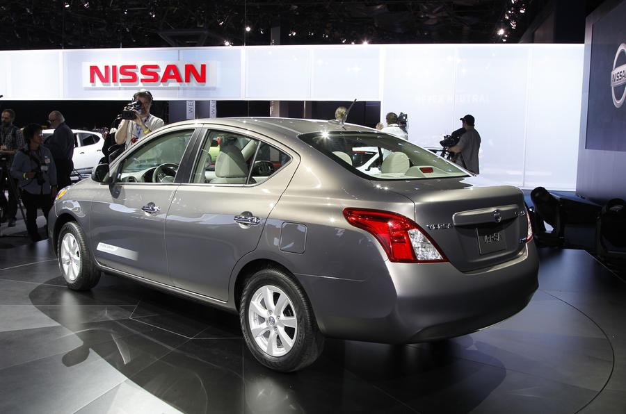 New York motor show: Nissan Versa
