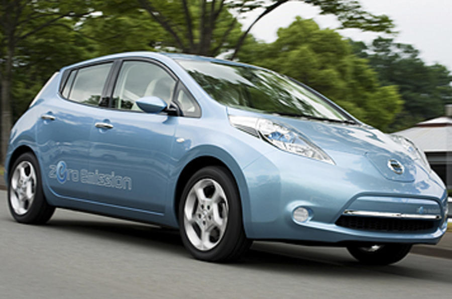 Nissan Leaf 'from £24,000'