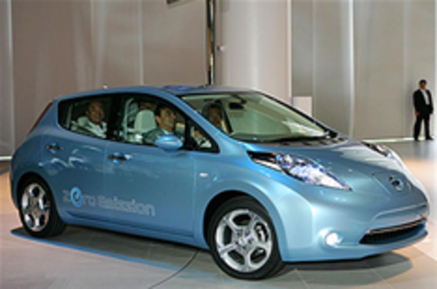 Nissan's UK Leaf plans 'on ice'