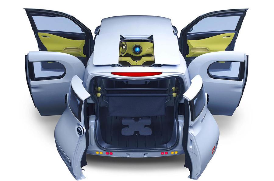 Paris motor show: Nissan Townpod concept