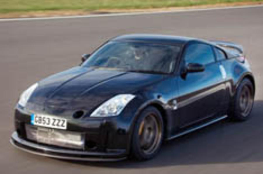 350Z is on a charge