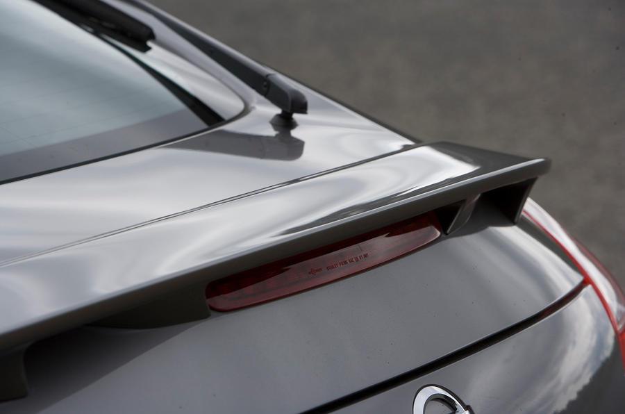 Nissan 370Z rear spoiler