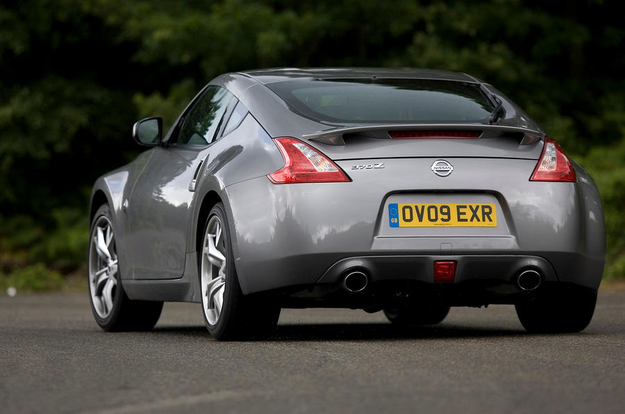 ... Nissan 370Z Rear Cornering ...
