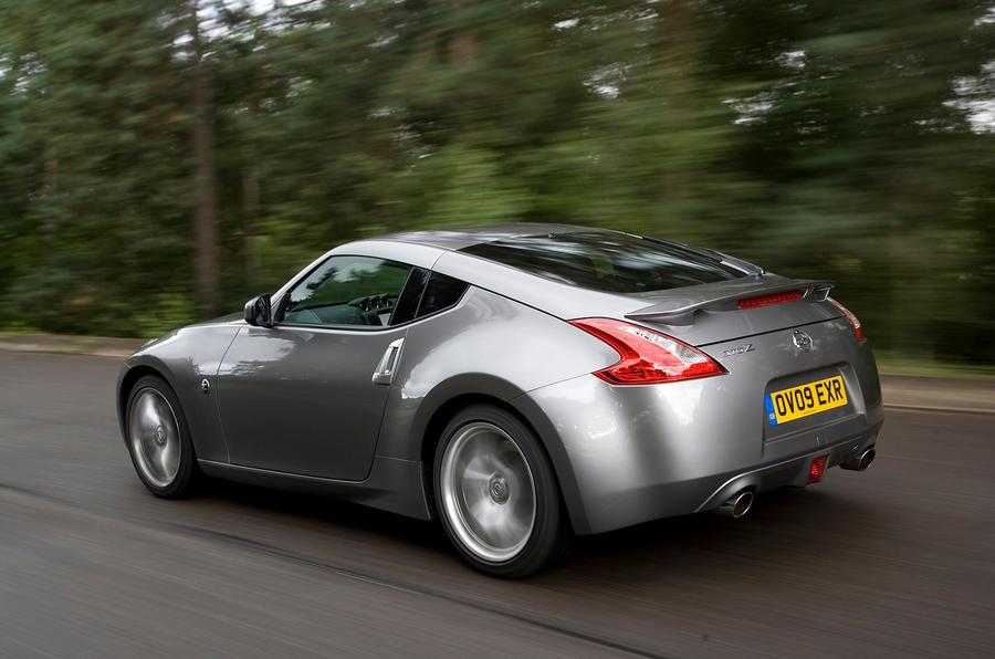 Nissan 370Z rear quarter