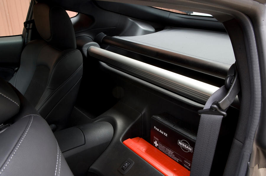 Nissan 370Z storage space