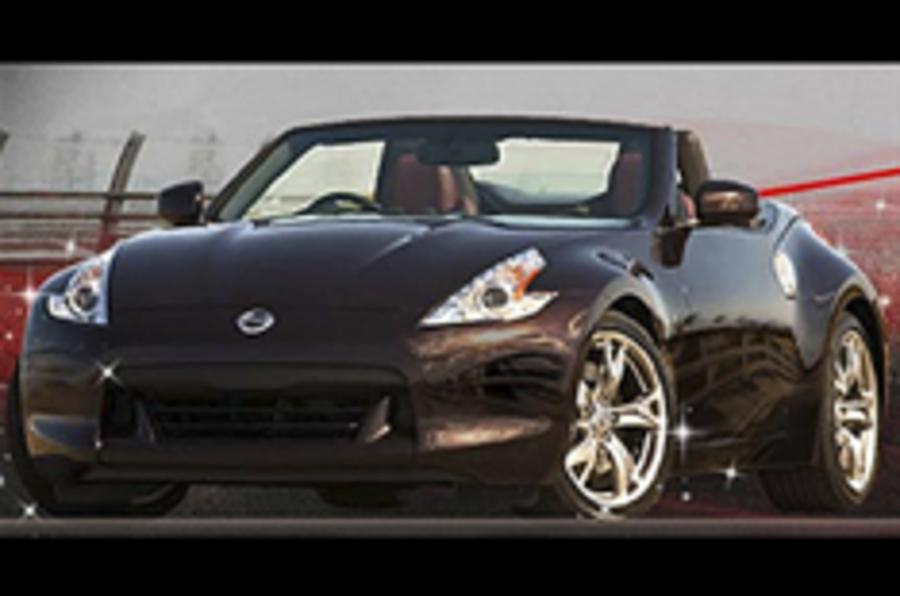 Nissan 370Z Roadster pictured