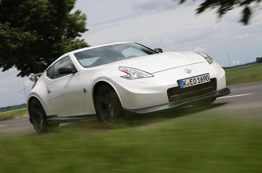 Nissan 370Z Nismo front end