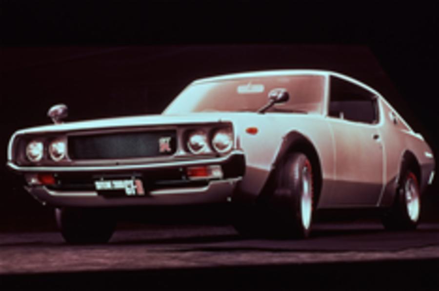 History of the GT-R in pics