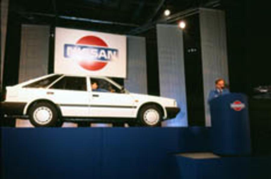 First UK-built Nissan turns 20