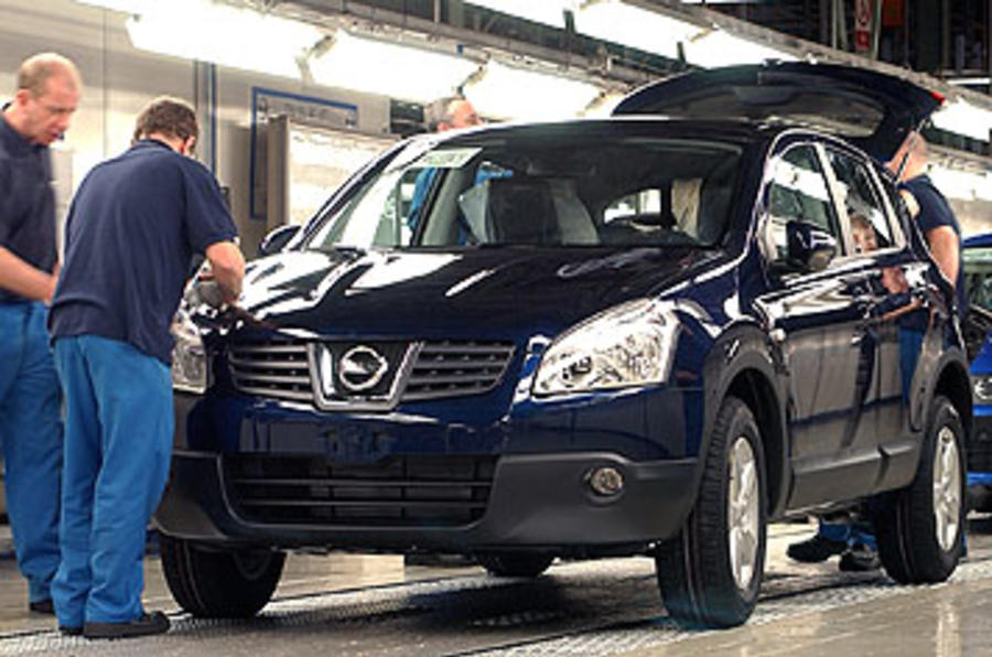 Nissan is UK's top car maker