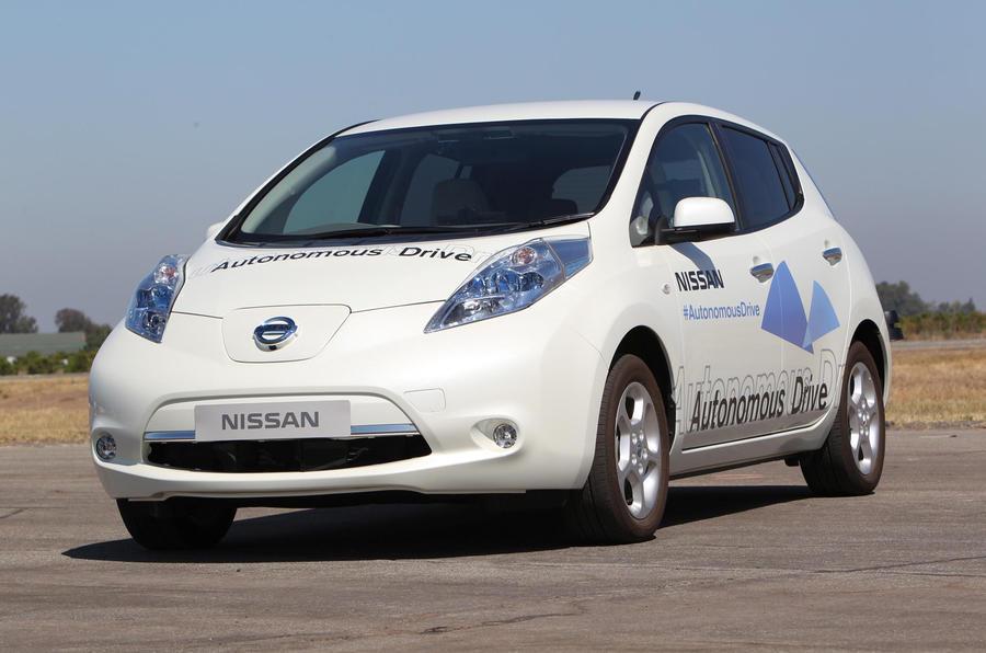 Nissan plans autonomous vehicles by 2020