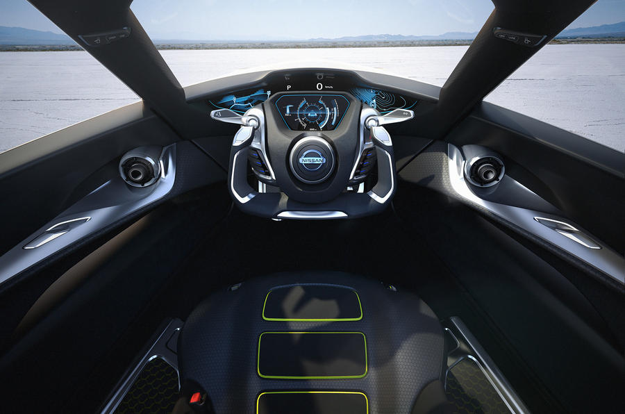 Nissan BladeGlider sports EV revealed