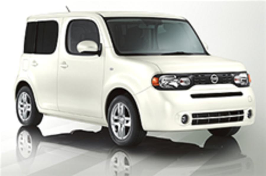LA Show: Nissan Cube