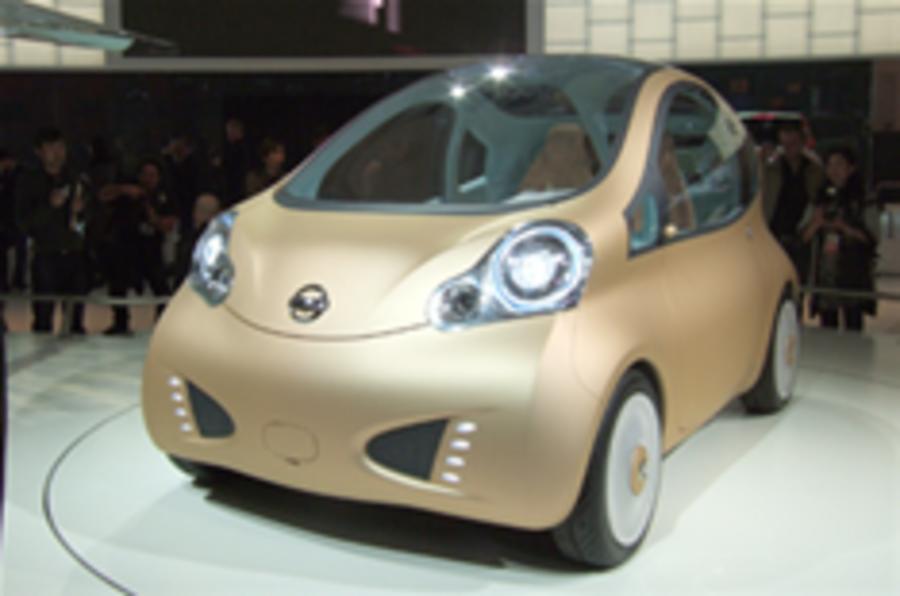 Paris show: Nissan Nuvu