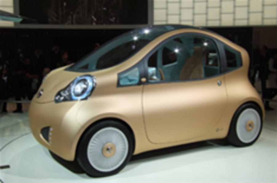 Electric Nissan to be made in UK