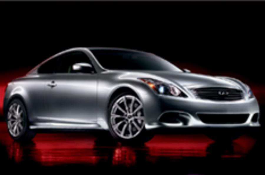 New Infiniti G37 coupe breaks cover