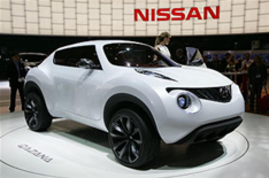 Nissan shows Qazana crossover