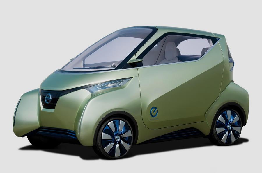 Tokyo show: Nissan PIVO 3