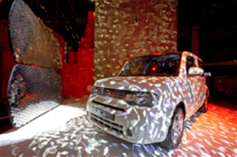 Nissan Cube gets UK launch