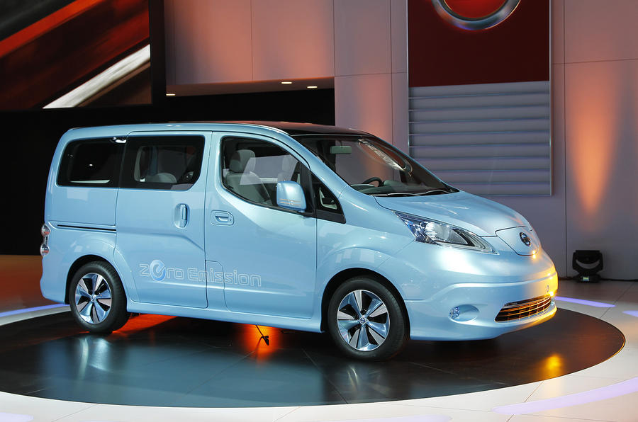 Electric Nissan e-NV200 van set for Geneva reveal