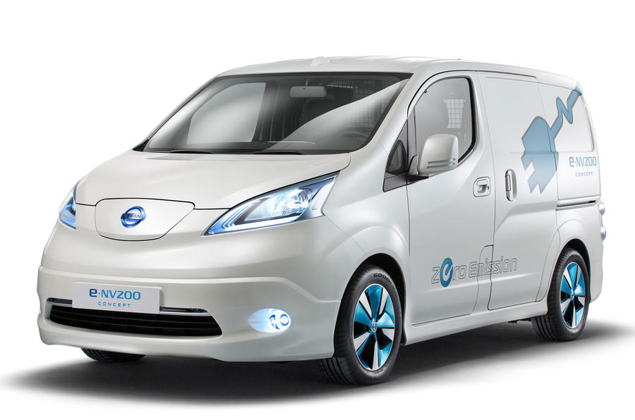 Electric Nissan e-NV200 van set for Geneva reveal