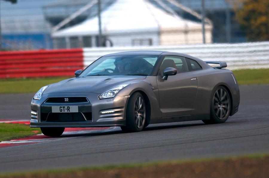 Nissan GT-R cornering