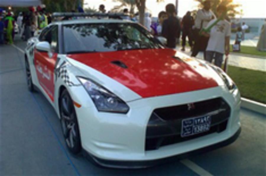 Police force gets Nissan GT-R