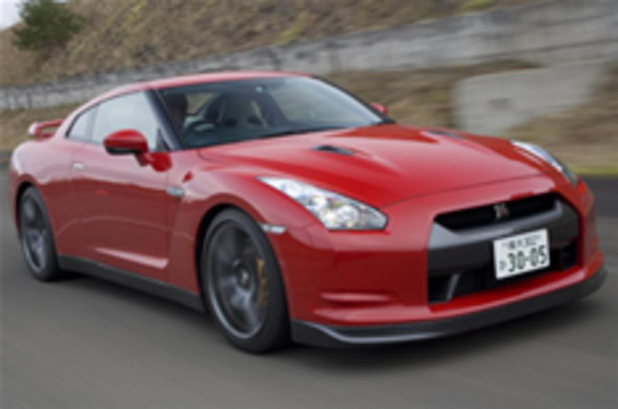 Behind the wheel of Nissan's GT-R