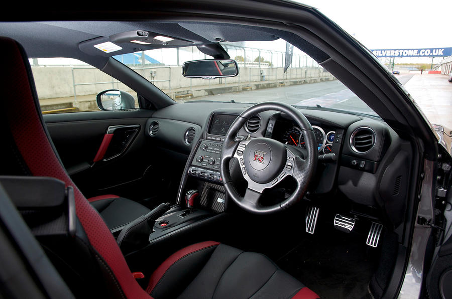 Nissan GT-R 2007-2016 interior | Autocar