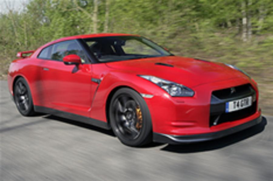 Nissan GT-R's world record