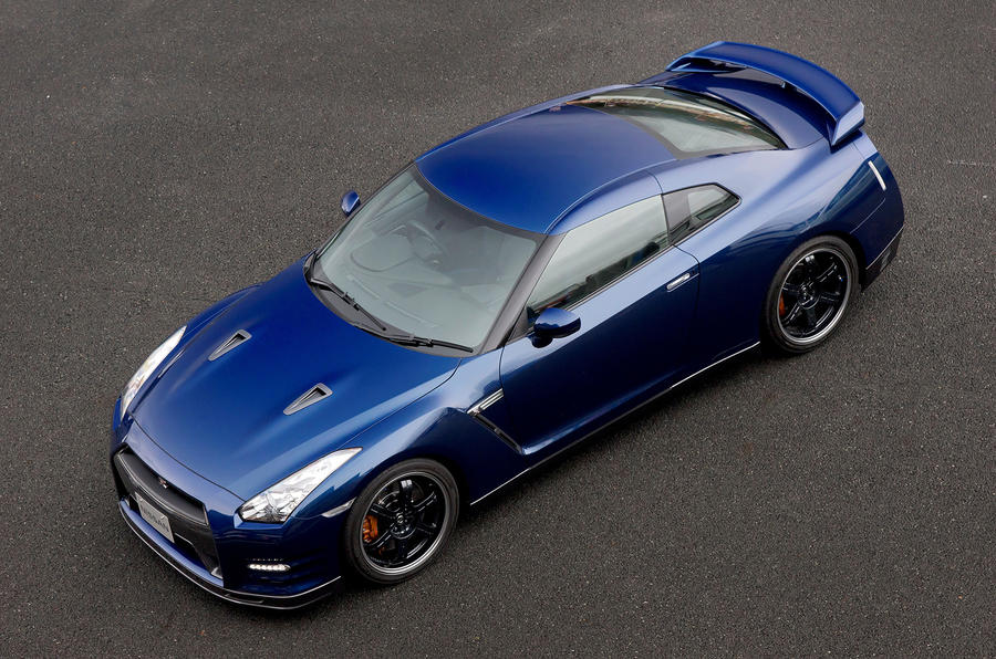 Track-focused Nissan GT-R shown