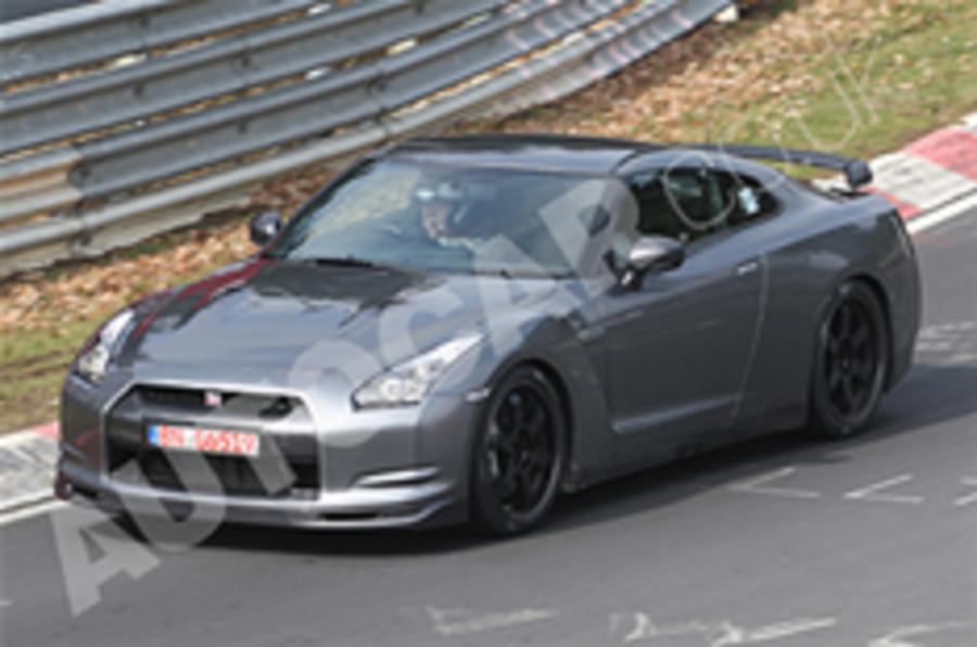 Spied: Nissan GT-R V-Spec