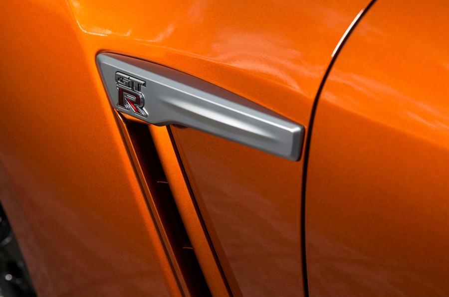 Nissan GT-R brake cooling duct