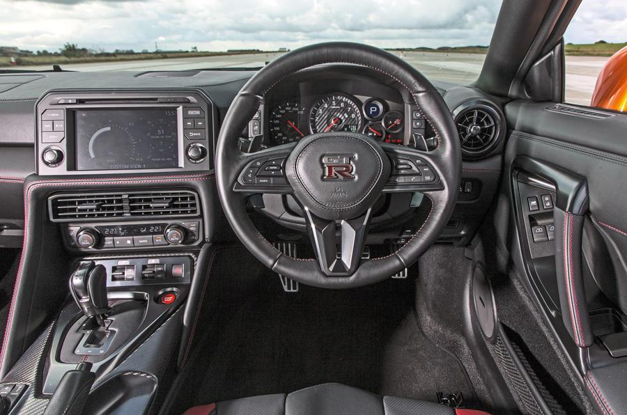 Nissan GT-R dashboard