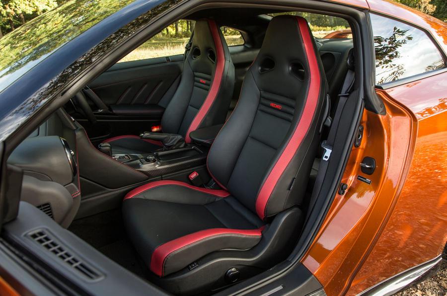 Beautiful ... Nissan GT R Interior ...