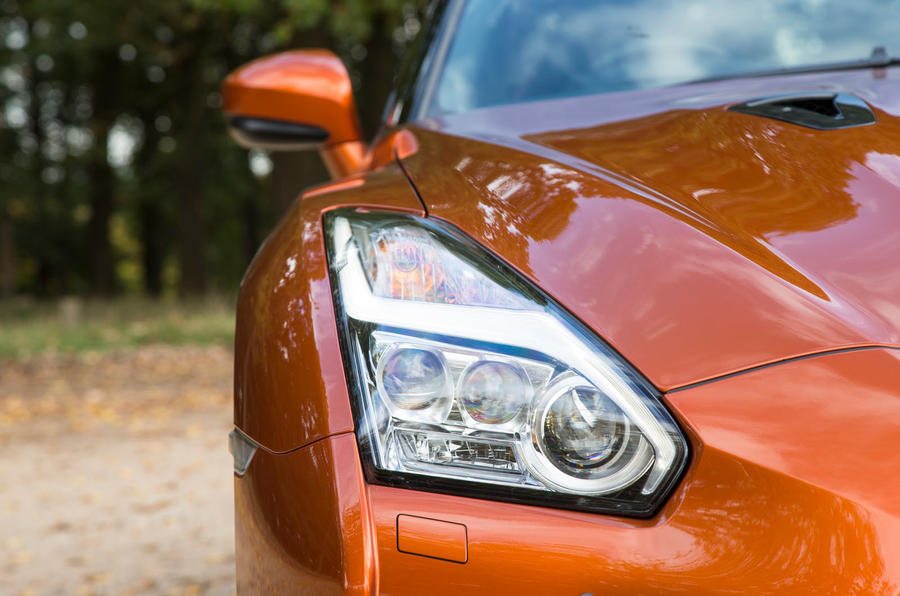 Nissan GT-R LED headlights