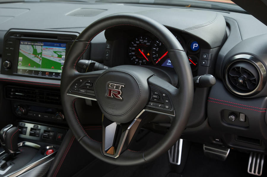 Nissan GT-R steering wheel