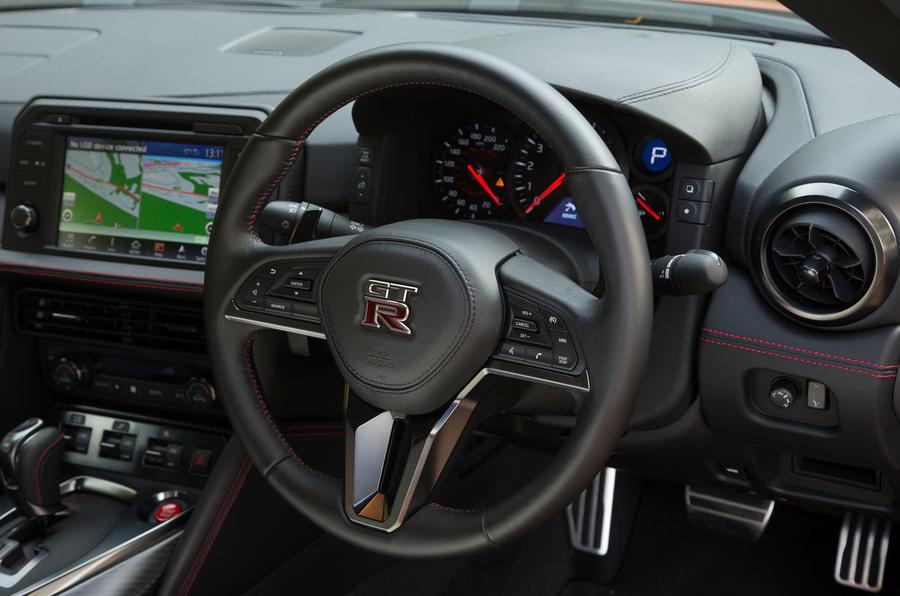 ... Nissan GT R Steering Wheel ...