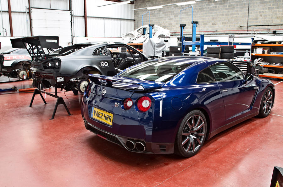 Nissan GTR to GT3 - picture special