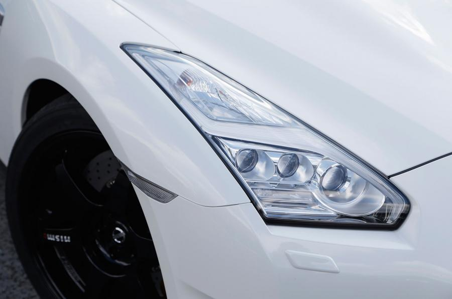 GT-R Track Edition headlights