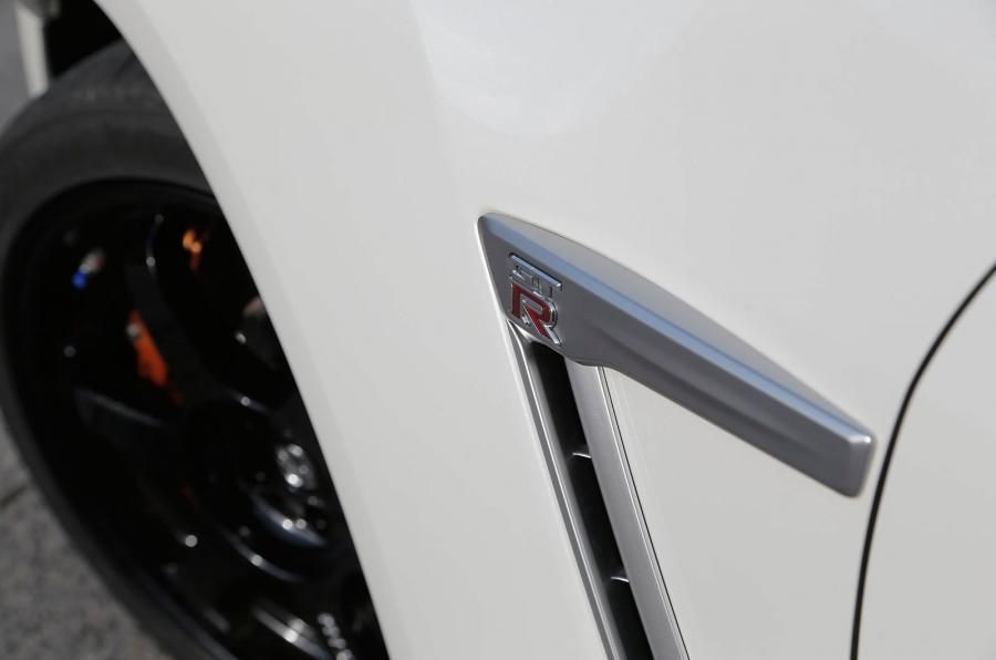 Nissan GT-R Track Edition front wing