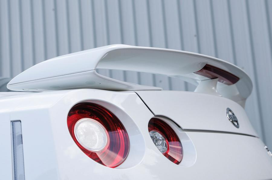 Nissan GT-R Track Edition rear wing