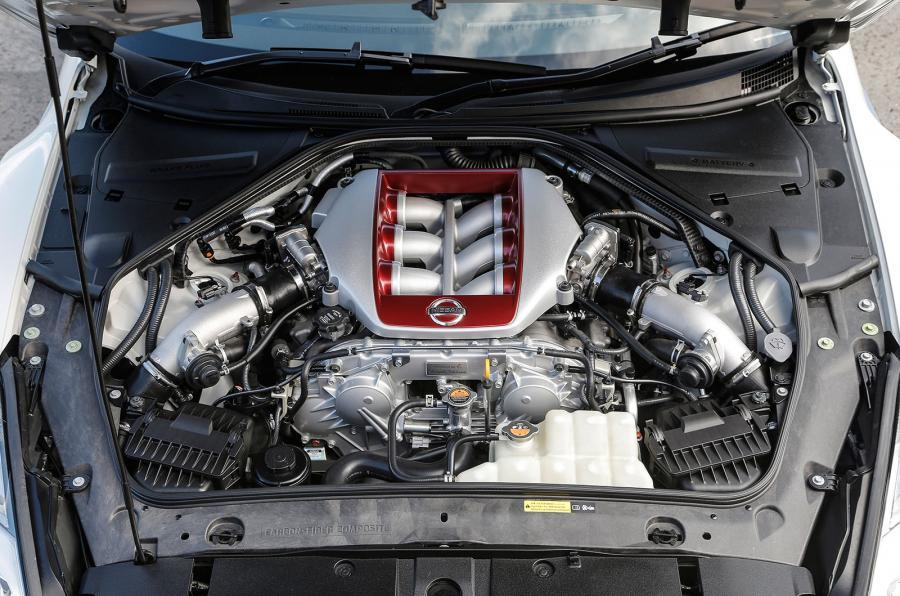 Nissan GT-R Track Edition engine
