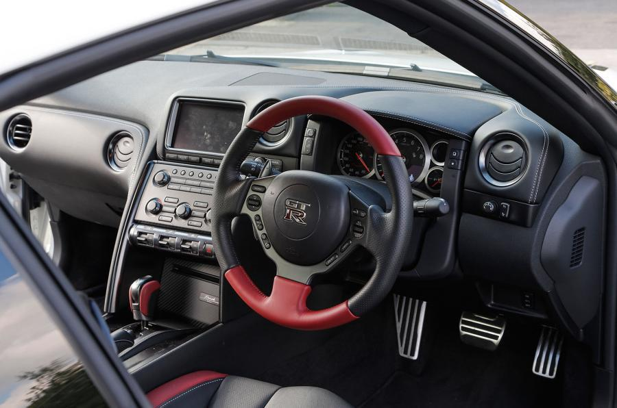 Nissan GT-R Track Edition dashboard