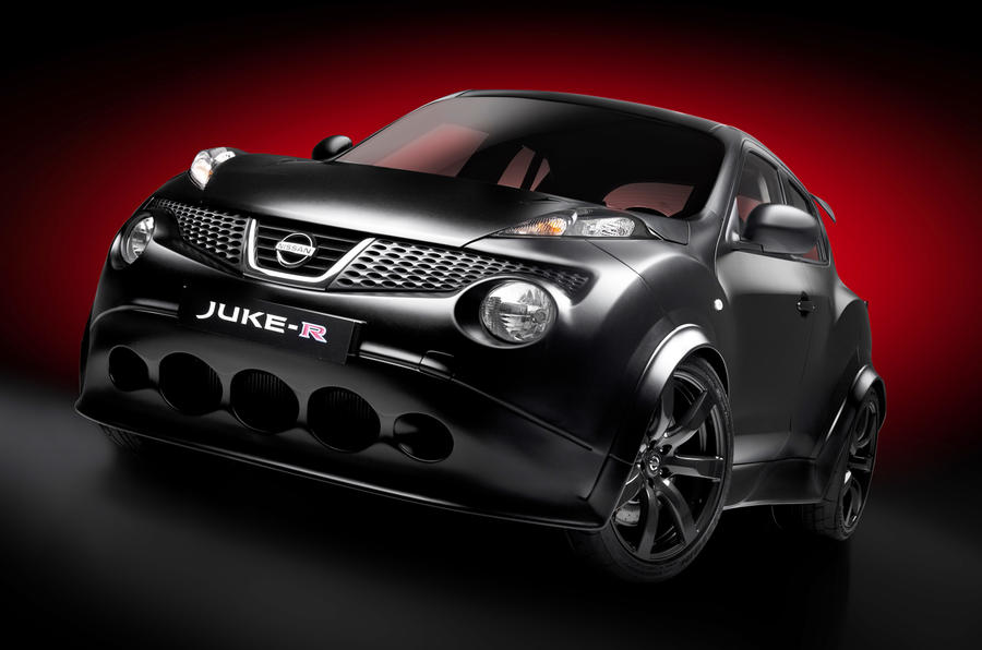 Nissan Juke-R nears completion