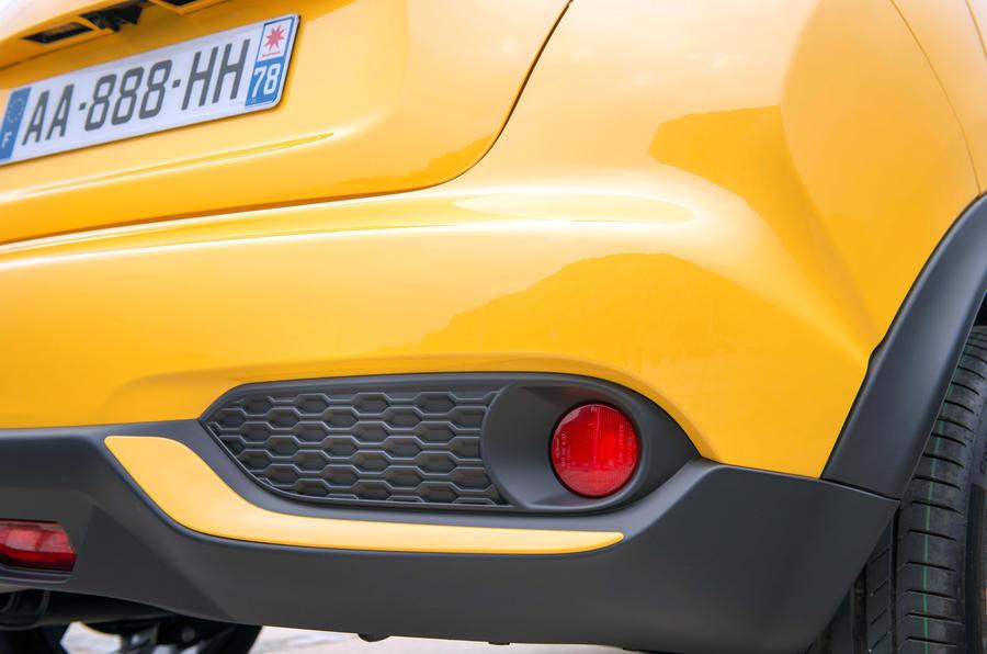 Nissan Juke rear bumper