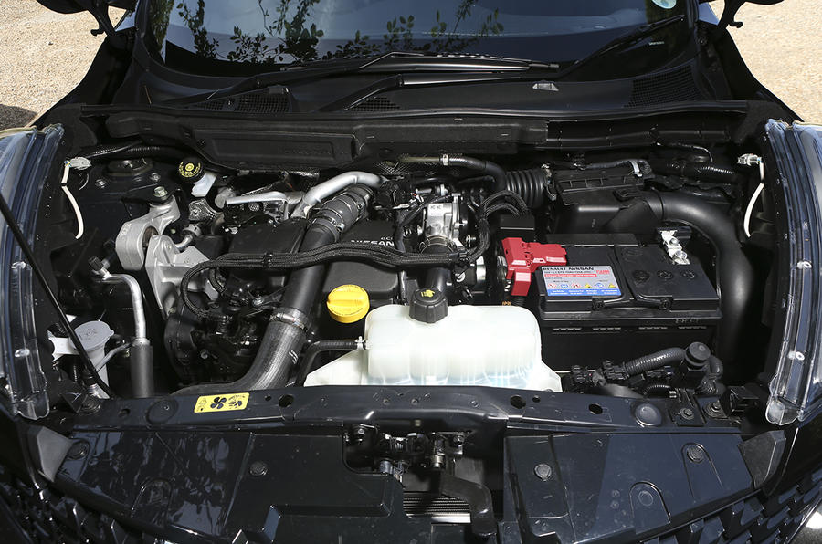 1.6-litre Nissan Juke diesel engine