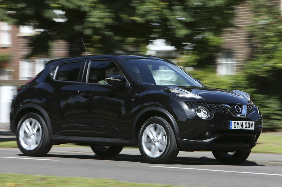 nissan juke acenta premium 1 5 dci 110 diesel first drive. Black Bedroom Furniture Sets. Home Design Ideas