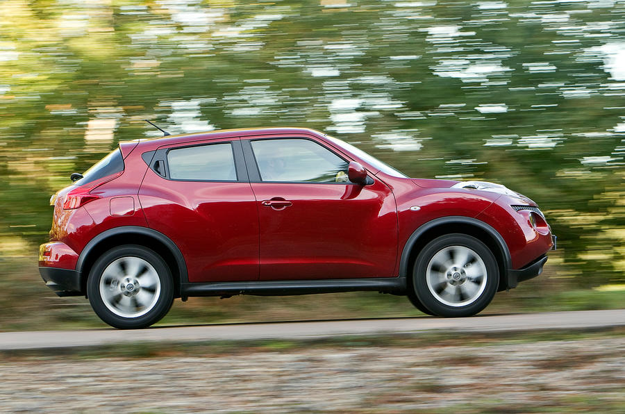 Nissan Juke side profile